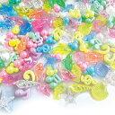 【エントリーでP10倍】アクリルアイス マルチネオンスタンダードMIX ( 1kg )幼稚園 夏祭り 景品 子供会 縁日