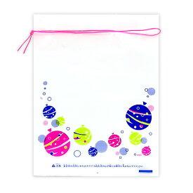 金魚袋(小)水ヨーヨー柄 (税別\4.9×100枚)幼稚園 祭り ハロウィン 景品 子供会 縁日