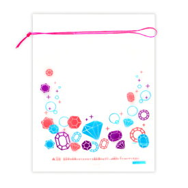 金魚袋(小)ジュエル柄 (税別\4.9×100枚)幼稚園 祭り ハロウィン 景品 子供会 縁日