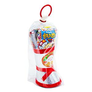 クリスマスブーツ 350 (1個){ クリスマス 景品 お菓子 詰め合わせ 配る用 子供会 }