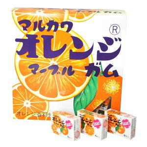 駄菓子 ビッグサイズ オレンジガム ( 税別¥400×1箱 )幼稚園 祭り 景品 子供会 縁日