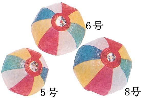 紙風船 紙ふうせん 6号 ( 税別24.5円×50個入 )