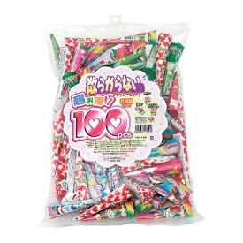 クラッカー 散らからない 徳用MIX 100個入( 1袋 )クラッカー 誕生日 バースデー お祝い パーティー