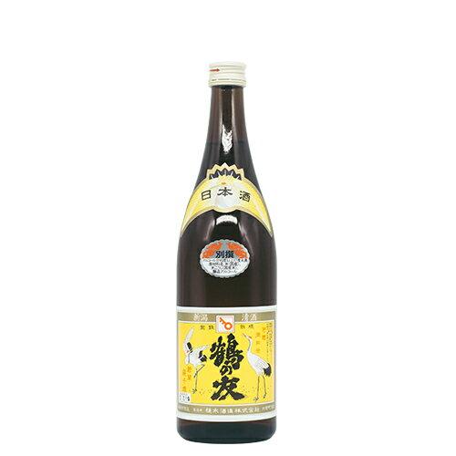 鶴の友 別撰 720ml【樋木酒造】【本醸造酒】【日本酒】【清酒】【新潟地酒】