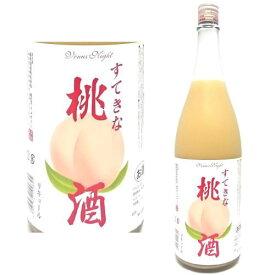 すてきな 桃酒 1800ml【リキュール】【麻原酒造】【お中元】【御中元】【ギフト】【プレゼント】