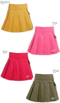 【送料無料】キスオンザグリーンポーチ付きボックスプリーツスカートゴルフウェアレディースゴルフスカートインナーパンツ付き裏地付き全9色M/L大きいサイズ