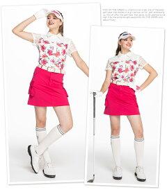 ゴルフスカート丈長めショート丈(丈短め)/インナーパンツ付カーゴスカート/インナーパンツ一体型ゴルフウェアレディース定番無地かわいいおしゃれインナーパンツ付き裏地付き全8色M/L