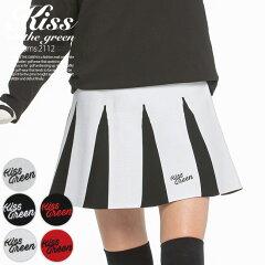 ジャガードニットフレアスカート