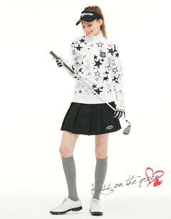 ゴルフウェアレディーススカートポーチ付きボックスプリーツスカート定番無地ゴルフウェアレディースゴルフスカートインナーパンツ付き裏地付き全9色SMLSサイズ