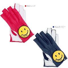 ゴルフグローブレディース両手指先カットネイル
