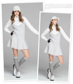 軽量ニットフレアスカート