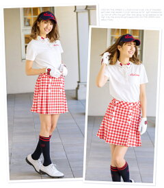 限定HelloKittyコラボ★キティちゃん襟刺しゅうポロシャツ