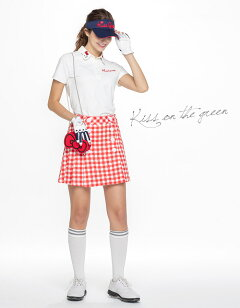 【代引手数料無料】HelloKittyコラボ★キティちゃんりぼんボールポーチ(ボールポーチケースゴルフウェアレディースゴルフウエア)