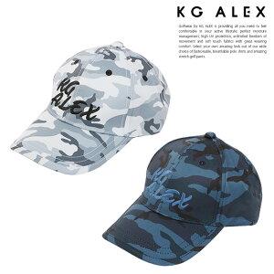【代引手数料無料】KG-ALEX 迷彩柄キャップ ゴルフウェア メンズ 全2色 フリーサイズ (ゴルフウェア メンズ キャップ 帽子)【メンズウェア】ギフト 父の日 誕生日 プレゼント コンペ
