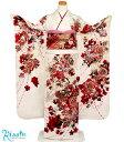 振袖 レンタル フルセット < 桜・薔薇 / 白 > 往復送料無料 成人式 結婚式 披露宴 結納 女性 振り袖 振袖セット 振…