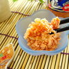The salmon flake which a salmon unties it, and is good to salmon boiled rice in tea to a lunch and pasta to 140 g of salmon flake rice and rice ball