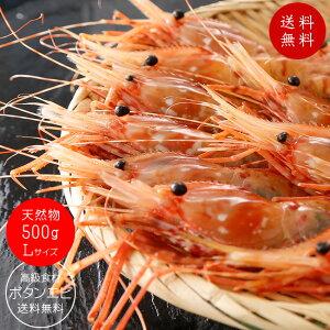 天然ボタンエビ500g Lサイズ 【ぼたんえび】刺身で食べれる牡丹海老 高級食材のボタン海老です 濃厚な甘さとプリップリッの食感を堪能してください。【牡丹エビ】送料無料