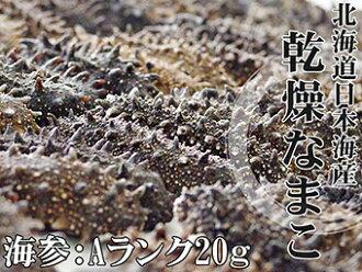 乾燥海參A級品20g北海道生產乾燥namako錢n孩子幹海參!北海海參海參!海參皇幹shinamako海的中醫