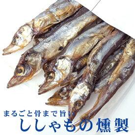 ししゃもの燻製 38g 【旨みがギュッと凝縮されたシシャモのクンセイ 珍味】まるごと骨まで旨い柳葉魚のくんせい【メール便対応】