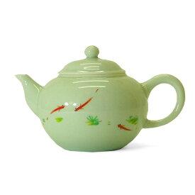 台湾茶器 三希製 浮魚 茶壷(29)