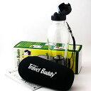 茶こし付きエコボトル水筒 エコ水筒(マイ水筒)Travel Buddy PC−503 ストロー 保温カバー付き  台湾