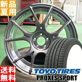 トーヨータイヤ TOYOTIRES プロクセス スポーツ PROXES SPORT 245/35R19 19インチ スポーツ系 ラジアル タイヤ ホイール 4本 セット 夏用 SSR GTX02 19×8.5J+38 5/114.3