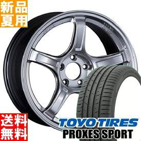 トーヨータイヤ TOYOTIRES プロクセス スポーツ PROXES SPORT 235/50R18 18インチ スポーツ系 サマー タイヤ ホイール 4本 セット 夏用 SSR GTX03 18×8.5J+45 5/114.3