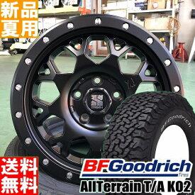 BFグッドリッチ BF.Goodrich オールテレーン All-Terrain T/A KO2 225/70R16 16インチ オフロード仕様 サマー タイヤ ホイール 4本 セット 夏 MLJ XTREME-J XJ04 16×7.0J+35 5/114.3