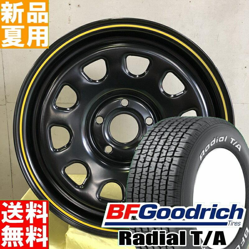 BFグッドリッチ BF.Goodrich ラジアル T/A Radial ホワイトレター 205/60R15 サマー タイヤ ホイール 4本 セット 15インチ MLJ DAYTONA SS 15×6.0J+30 5/108 夏用 新品