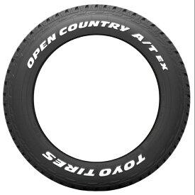 新品 夏用 16インチ 215/70R16 トーヨータイヤ TOYOTIRES オープンカントリー A/T EX OPENCOUNTRY 215/70R16 タイヤ 4本セット