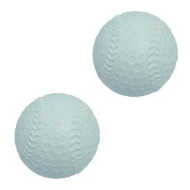 なかよしカラーボール 白野球 2個入り