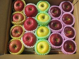 園主お勧め2〜3品種詰め合わせ「信州産 旬のりんご 」中級ランク約4.7〜5kg(10〜20玉)【送料無料(一部地域は有料)】掲載画像は一例(イメージ)です。大きさ・個数・品種などは園主お勧めのパッケージ品となります。母の日 フルーツ ギフト プレゼント