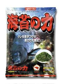 海苔の力 約1.5kg 釣り餌 まき餌 配合餌 磯釣り 防波堤釣り グレ クロ メジナ ヒロキュー