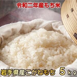 【送料無料】もち米 こがねもち 5kg 令和2年度 岩手県産もち米 まだまだお餅が食べたい方に コシが特徴 お赤飯なら格別の炊きあがりに!