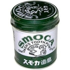 スモカ 歯磨粉 緑缶155g【4901839011020】
