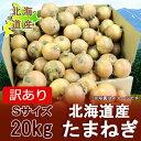 【訳あり 玉ねぎ 北海道】北海道産 たまねぎ 玉葱(たまねぎ) Sサイズ 20 kg(20キロ)価格 1000円