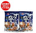 ラーメン 送料無料 乾麺 オホーツクの塩 ラーメン 袋麺 1袋×2個 価格999円 ラーメン スープ付 オホーツクの塩ラーメン