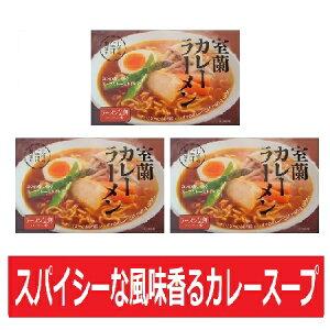 ご当地 カレーラーメン 送料無料 室蘭ご当地カレーラーメン 乾麺 カレーラーメン 2食入×3個セット 価格 2236円 室蘭 カレー ラーメン