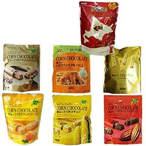 チョコレート ホリ とうきびチョコ 6種類 各1袋・北海道限定 明治・meiji アポロ チョコレート 各1袋 計7袋 価格4200円 送料無料 チョコレート菓子