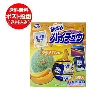 「北海道 夕張メロン 送料無料」夕張メロンの果汁を使用した 北海道限定 ハイチュウ メロン 味 5本入り 価格 888 円「ハイチュウ 限定」