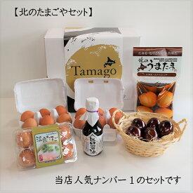 北のたまごやセット 送料無料 卵 たまご セット ギフト 北海道 煮卵 半熟 味玉 燻製たまご 温泉たまご 卵かけご飯しょうゆ