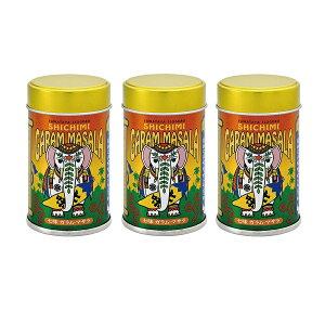 八幡屋礒五郎 七味ガラムマサラ 3缶セット