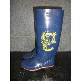 ザクタス耐油長靴Z01(ブルー)日本製 昇龍プリント入り