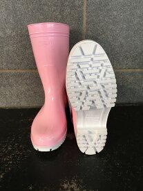 ゾナG5耐油長靴(ピンク)グリップ底中敷き付き 日本製