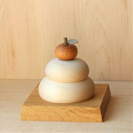木製鏡餅 メープル 大サイズ