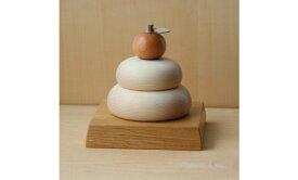 木製鏡餅 メープル 大サイ 11月中旬の発送になります。