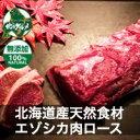【北海道産】えぞ鹿肉/エゾシカ肉/ジビエ/ ロース 500g【無添加】【shika-s】