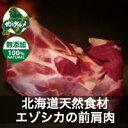 【北海道産】エゾシカ肉/鹿肉/シカ肉/ジビエ 前肩肉 500g【無添加】