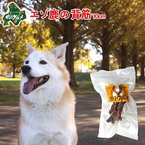 犬 おやつ 国産 北海道産 エゾ鹿 の 背筋 40g 10cm前後 高たんぱく質&低脂肪 低カロリー えぞ鹿肉 エゾシカ肉 シカ肉 ジビエ ドックフード 犬用おやつ 犬のおやつ 犬のオヤツ いぬのおやつ 高