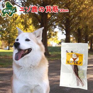 犬 おやつ 国産 北海道産 エゾ鹿 の 背筋 40g 20cm前後 高たんぱく質&低脂肪 低カロリー えぞ鹿肉 エゾシカ肉 シカ肉 ジビエ ドックフード 犬用おやつ 犬のおやつ 犬のオヤツ いぬのおやつ 高